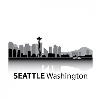Seattle skyline design