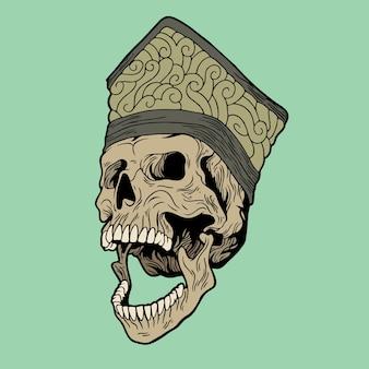 Secret skull