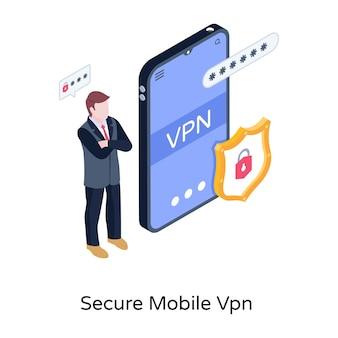 Secure mobile vpn
