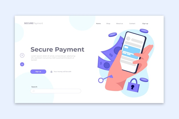 Концепция безопасной страницы оплаты