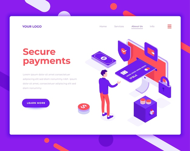 Secure payment people and interact with card