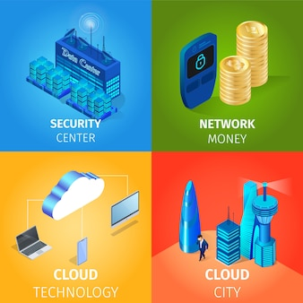 Security center and network money