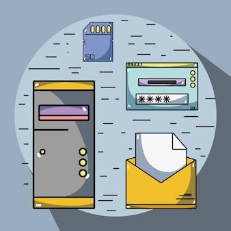 Security data center connection server