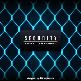 Security gate background