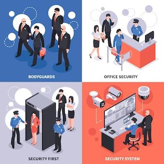 Изометрические концепции безопасности