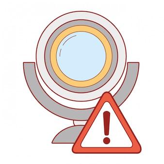 Мультфильм системы безопасности