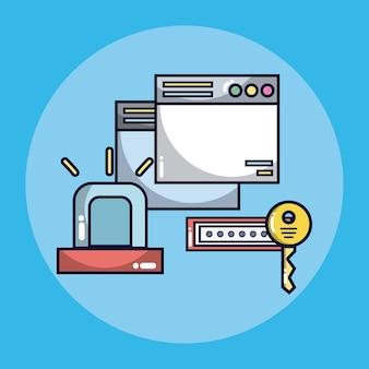 Концепция системы безопасности с символами