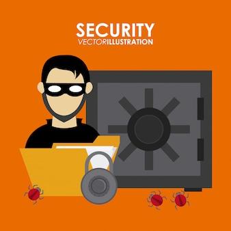 Система безопасности desgin
