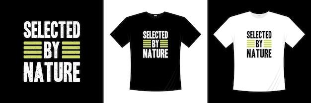 自然淘汰tシャツのデザインによって選択されました。モチベーション、インスピレーションtシャツ。