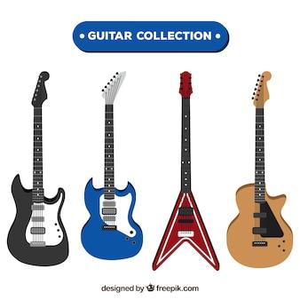 La selezione di fantastiche chitarre elettriche