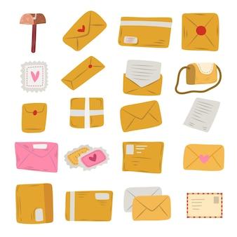 メール封筒落書きスタイルの選択