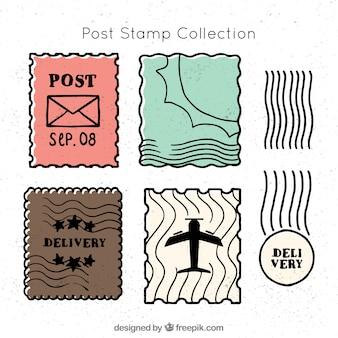 포스트 스탬프 선택
