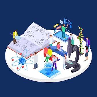 自己およびオンラインの教育、科学、研究ラボ