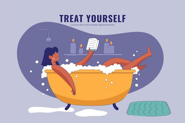 Self care health concept