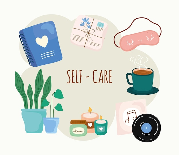 Self care symbol group