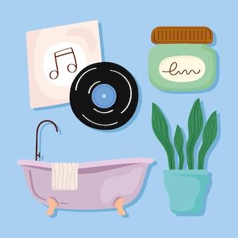 Self care symbols