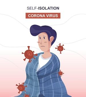 Self-isolation coronavirus