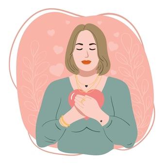 Иллюстрация любви к себе