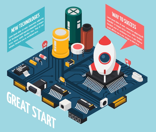 Концепция полупроводниковых электронных компонентов