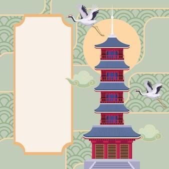 浅草寺日本のポスター