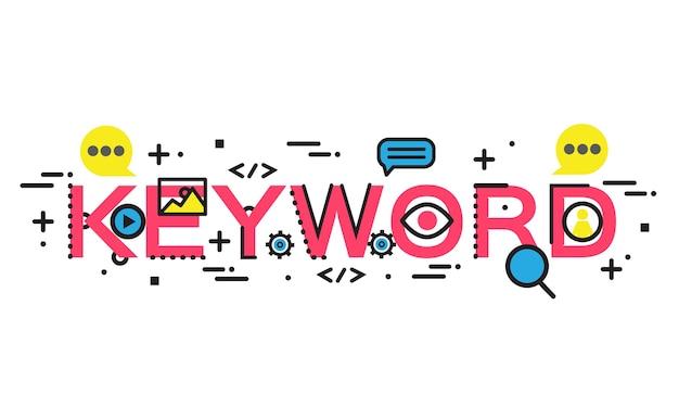 Seo data analytics and keyword process