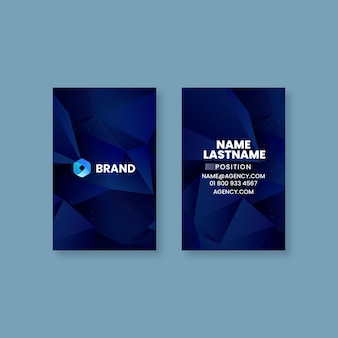 Seo double-sided business card