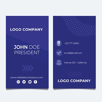 Seo double-sided businesscard v