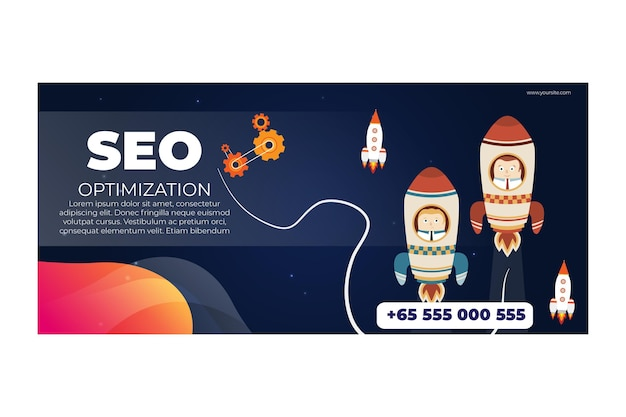 Banner orizzontale seo