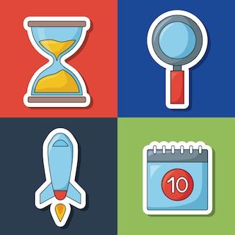 Seo search engine optimisation and marketing icon