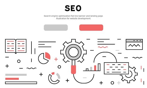 Seo web infographic
