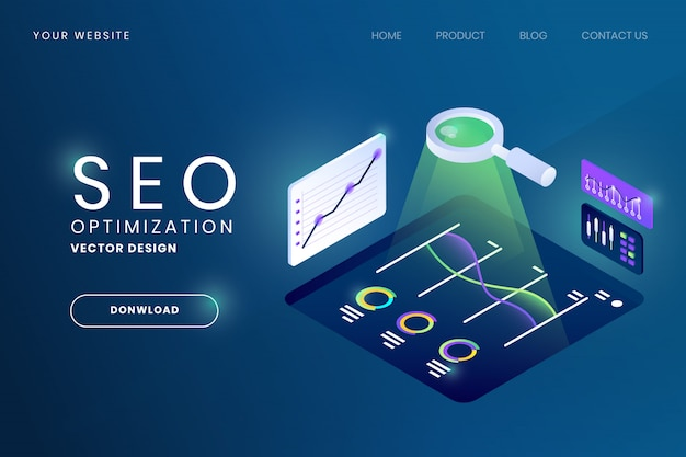 Seo поиск двигателя оптимизация иллюстрация