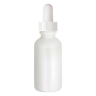 血清ドロッパーボトル。化粧品アロマオイルバイアル。