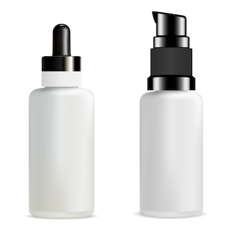 Serum dropper bottle