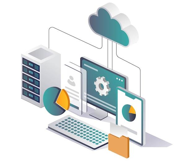 Серверная и облачная компьютерная сеть