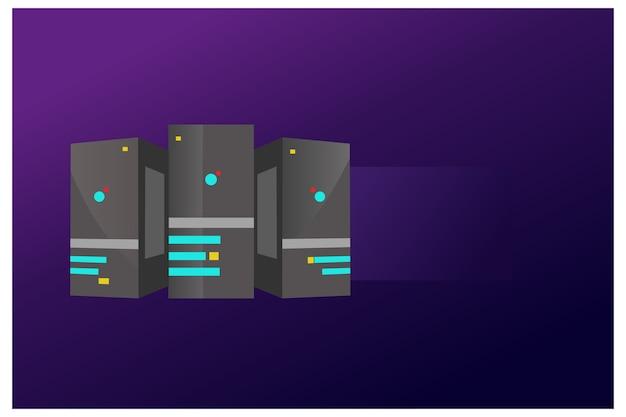 Иллюстрация сервера
