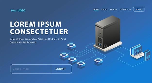 서버 네트워크 및 분석
