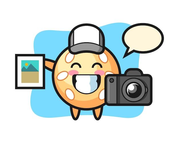 写真家としてのセサミボール漫画