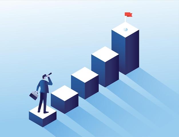 ビジネスで達成するための目標目標を設定する