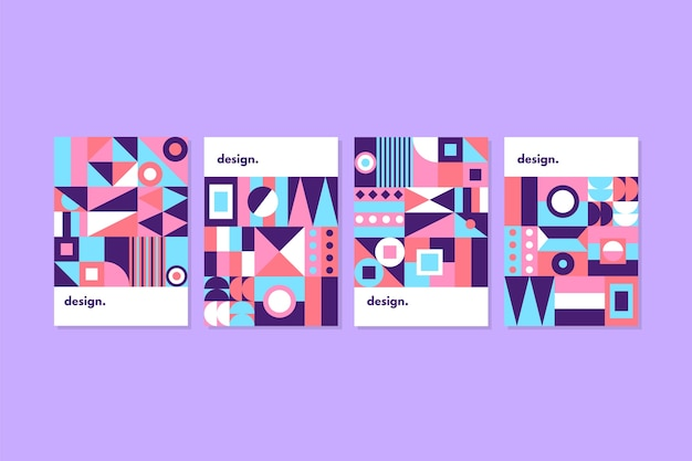 Set of abstract colorful covers