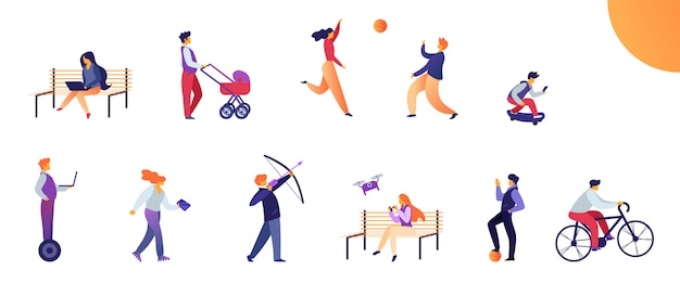 Set activities for young people in everyday life.