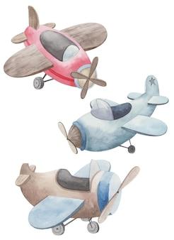Set of aircraft, transport