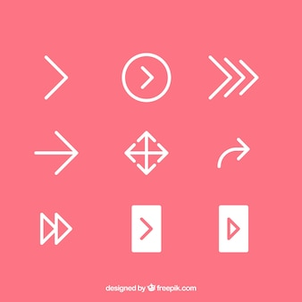 Set di icone di freccia