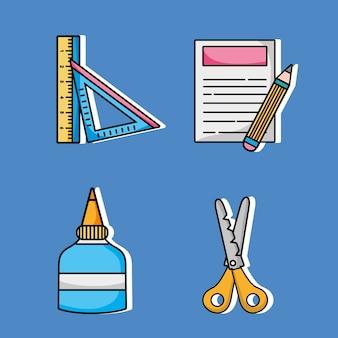 Набор художественных и ремесленных творческих объектов