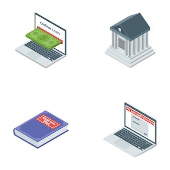 Set of banking icons
