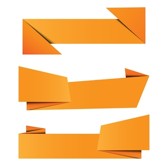 Набор баннерная бумага оригами