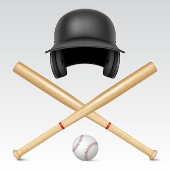 Set of baseball equipment