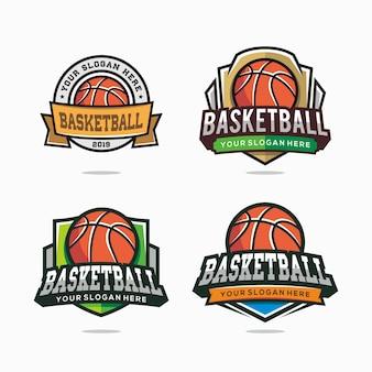 Set of basketball logo for your team
