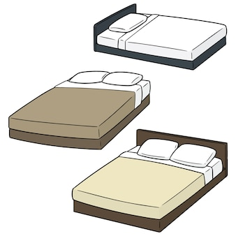Set of beds
