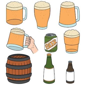 Set of beers