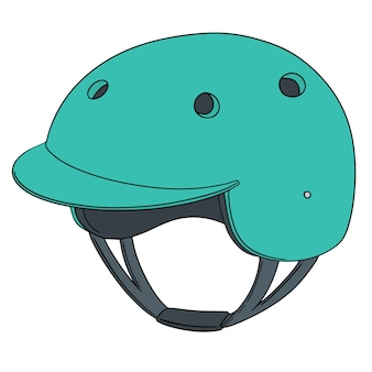 Set of bicycle helmet